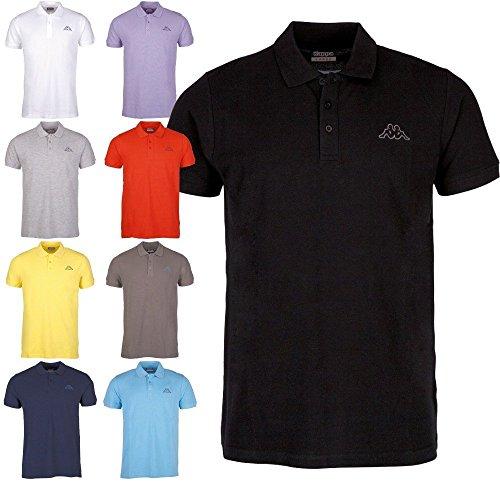 Kappa Polo ziatec Edition-Golf Shirt-Camicia polo-Polo da uomo, serie 1, 2o 3Pack, 1 x blau