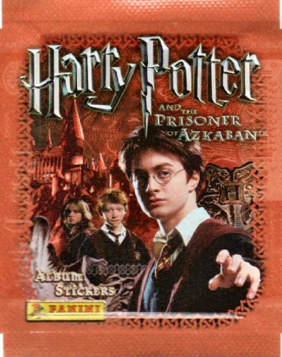 Harry Potter and the Prisoner of Azkaban Panini Sticker Pack (One pack of 5 Assorted Stickers, Each Pack has Different Stickers) - 1