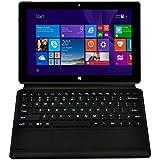 kablellose Tastaur SchutzHülle 10.1 Zoll Windows 8.1 Tablet PC --10.1 Zoll Touchscreen - Intel Baytrail-T(Quad-core) Z3735G 1.33GHz, 1280*800 IPS Screen 16GB Tablet Schwarz