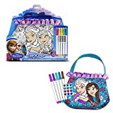 Disney Frozen Elsa/anna Color N Activity Purse