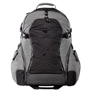 Tenba 632-332 Shootout Large Backpack with Wheels (Silver/Black)