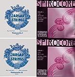 チェロ弦セット JARGAR SPIROCOREクローム巻 ランキングお取り寄せ
