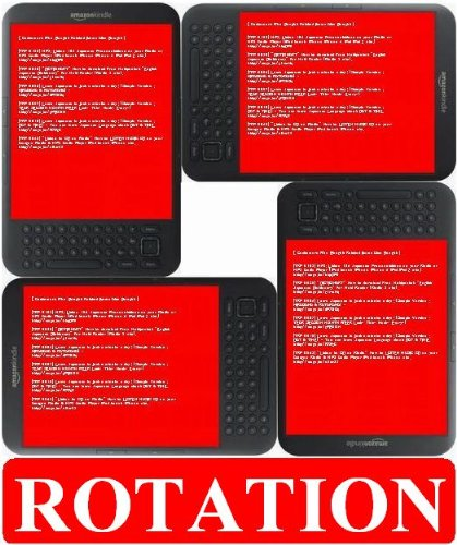 How to Rotate your Kindle Screen Display. (4 directions) - TKP 0249 -