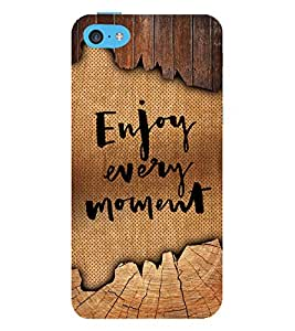Enjoy Every Moment 3D Hard Polycarbonate Designer Back Case Cover for Apple iPod Touch 6 (6th Generation)
