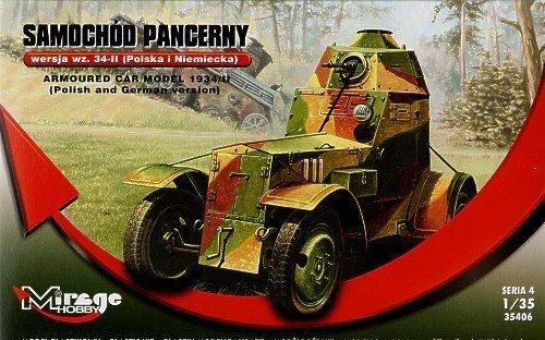 355020 - Armoured car model 1934 II polish german  Panzer
