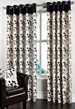 Ring Top Eyelet 'Laurel' Lined Curtains 90