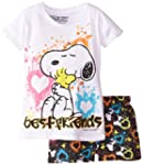 FREEZE Little Girls' Peanuts Snoopy a...