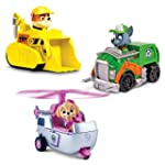 Paw Patrol Racers 3-Pack Vehicle Set,...
