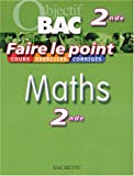 Faire le point : Maths, 2nde