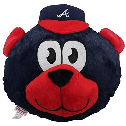 MLB Atlanta Braves Nogginz Plush Toy, Medium, Blue - 1