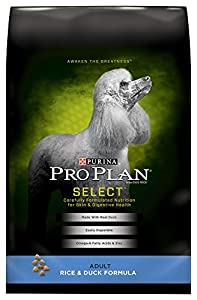 Purina Pro Plan Select Adult Rice and Duck Dry Dog Formula, 24-Pound