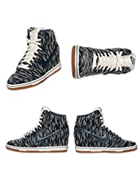 Hurley - Mens Wmns Dunk Sky Hi Shoes, Size: 11, Color: Sail///Armory Navy