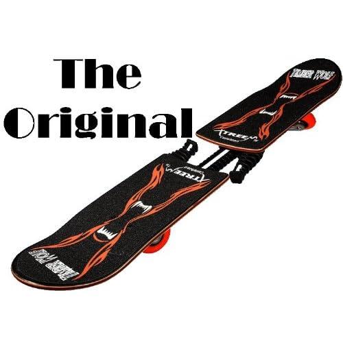 Amazon.com : TimberWolf XtreeM Caster Board : Caster Board Skateboards