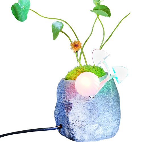 Generic Creative Plastic Led Light Control Nightlights Avatar Mushroom
