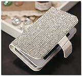液晶保護フィルム付き おしゃれ iPhone6S ケース / iphone 6 ケース おしゃれ デザイン 手帳型 スマホ カバー キラキラ スワロフスキ ラインストーン デコ イフォン 6 6s スマホケース かわいい スワロフスキー キラキラ デコ ゴージャス 財布型 横開き 人気 耐衝撃 アイフォン6s 4.7手帳型ケース 高級品  RKS190