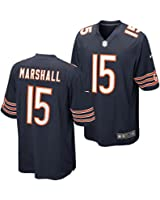 Nike Mens NFL Chicago Bears Brandon Marshall Game Jersey Navy Blue