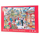 "500 Piece Jigsaw Puzzle - 2015 Christmas Collectors Edition No.10 - Window Shopping ""NEW JULY 2015"""