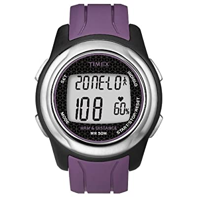Timex Full-Size T5K561 Health Touch Plus Heart Rate Monitor Watch