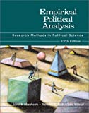Empirical Political Analysis: Research Methods in Political Science (5th Edition) (0321086147) by Manheim, Jarol B.