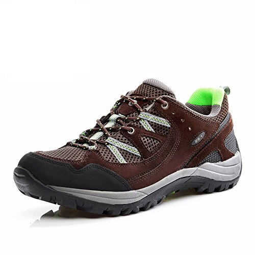 Mens Walking Shoes Waterproof Durable Casual Sneakers Outdoor Chocolate (Insulated Walking Shoes compare prices)