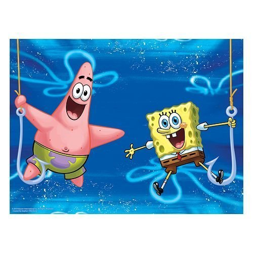 Spongebob Squarepants Lenticular Puzzle 100 Pieces in Collectible Tin