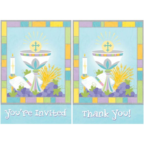 invitation thankyou set joyous communion