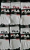 Pack of 6 Pairs Fila Skele-toes-socks…
