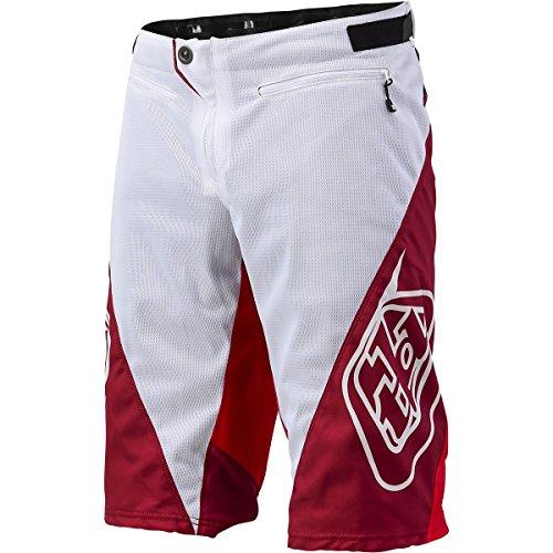"""Troy Lee Designs-Pantaloncini """"Sprint"""", colore: rosso, 86,36 (34"""") cm"""