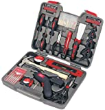 Apollo Precision Tools DT8422  Household Tool Kit with 4.8-Volt Cordless Screw driver, 144-Piece
