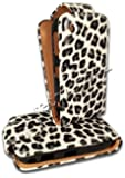 NEW Leopard Print Flip Leather Case Cover for blackberry CURVE 8520,9300 CURVE,8530 CURVE