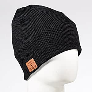 Tenergy Bluetooth Beanie with Basic Knit, Color Black