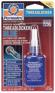 Permatex 24300 Surface Insensitive Threadlocker Blue, 0.34 oz.