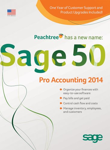 Sage 50 Pro Accounting 2014 (1-User)