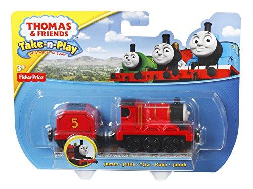Fisher-Price Thomas & Friends Take-n-Play Portable Railway, James Train