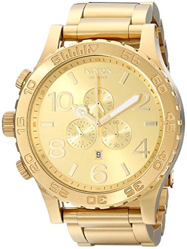 Nixon 51-30 Chrono Watch in All Gold Watch
