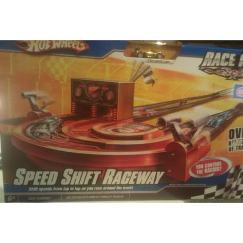 Amazon.com: Hot Wheels Race Aces Speed Shift Raceway