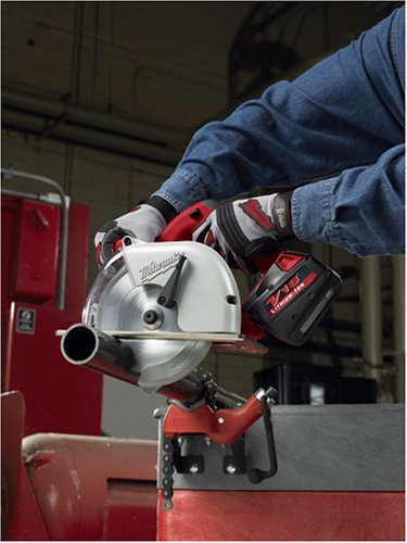 Milwaukee 0840-22 18-Volt Cordless V18 Lithium-Ion 6-7/8-Inch Metal Cutting Saw with Case