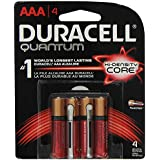 Duracell Quantum AAA 1.5V Alkaline Batteries - 4-Pack Retail Card