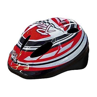 MV-TEK Cycle Helmet boy model Racing Helmet red Medium (Baby boy)/Cycle Helmet size M red model Racing Helmets (Children) by MV-TEK