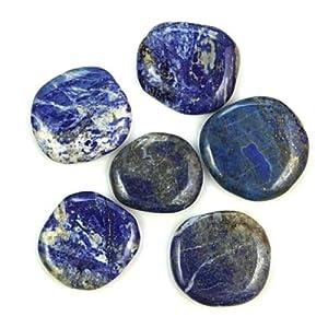 Naturosphère - Minéraux et fossiles - Pierre plate lapis lazuli - A l'unité Poids 41 à 50 grammes 51RNT-lVxAL._SL500_AA300_