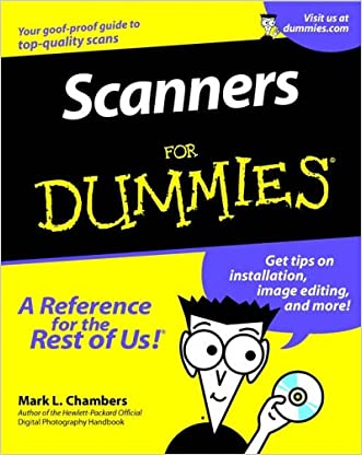 Scanners For Dummies(For Dummies (Computer/Tech))
