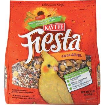 Kaytee Fiesta Fortified Gourmet Bird Food for Cockatiels
