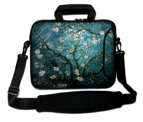 "Casebuy 17"" 17.3"" 17.4"" Inch Neoprene Notebook Laptop Soft Bag Sleeve Case Cover Pouch With Adjustable Shoulder Strap For Apple Macbook Pro 17 /Hp Envy 17 Series/ Pavilion Dv7/Dv7T/G72/G72T/G7T/M7 Series / Dell Inspiron 17 17R I17Rm I17Rv Xps 17 Series/As front-564837"