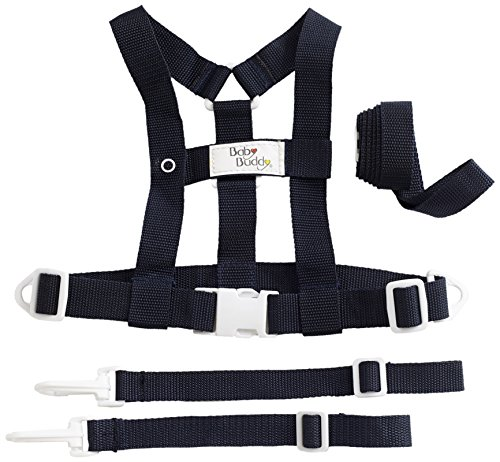 Baby Buddy Deluxe Security Harness, Black - 1