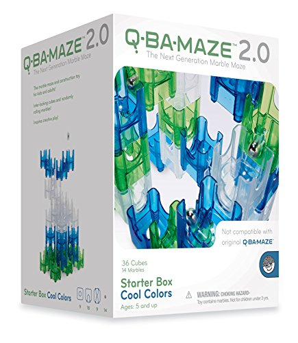 Mindware Q-Ba-Maze Cool Colors front-886491