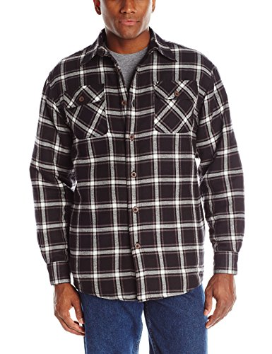 wrangler-authentics-mens-long-sleeve-quilted-flannel-lined-shirt-caviar-x-large