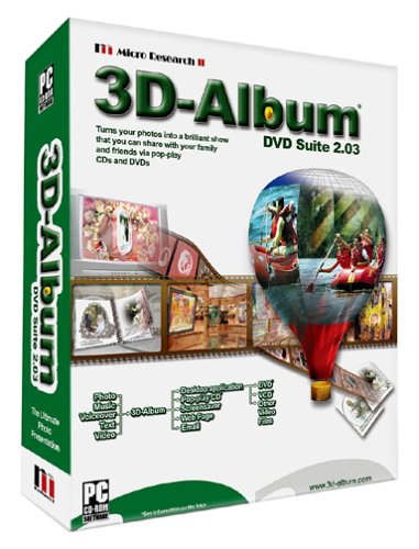 3D Album DVD Suite 2.03 - Micro Research II (Vcds Micro Can compare prices)