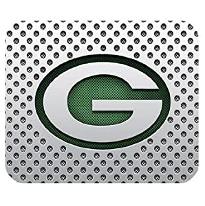 Amazon Com Green Bay Packers Logo Square Mouse Mats With