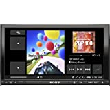 """Sony XAV-72BT 7"""" In-Dash Double DIN DVD/MP3/WMA/AAC Receiver with Built-in Bluetooth and iPod Control (Discontinued by Manufacturer)"""