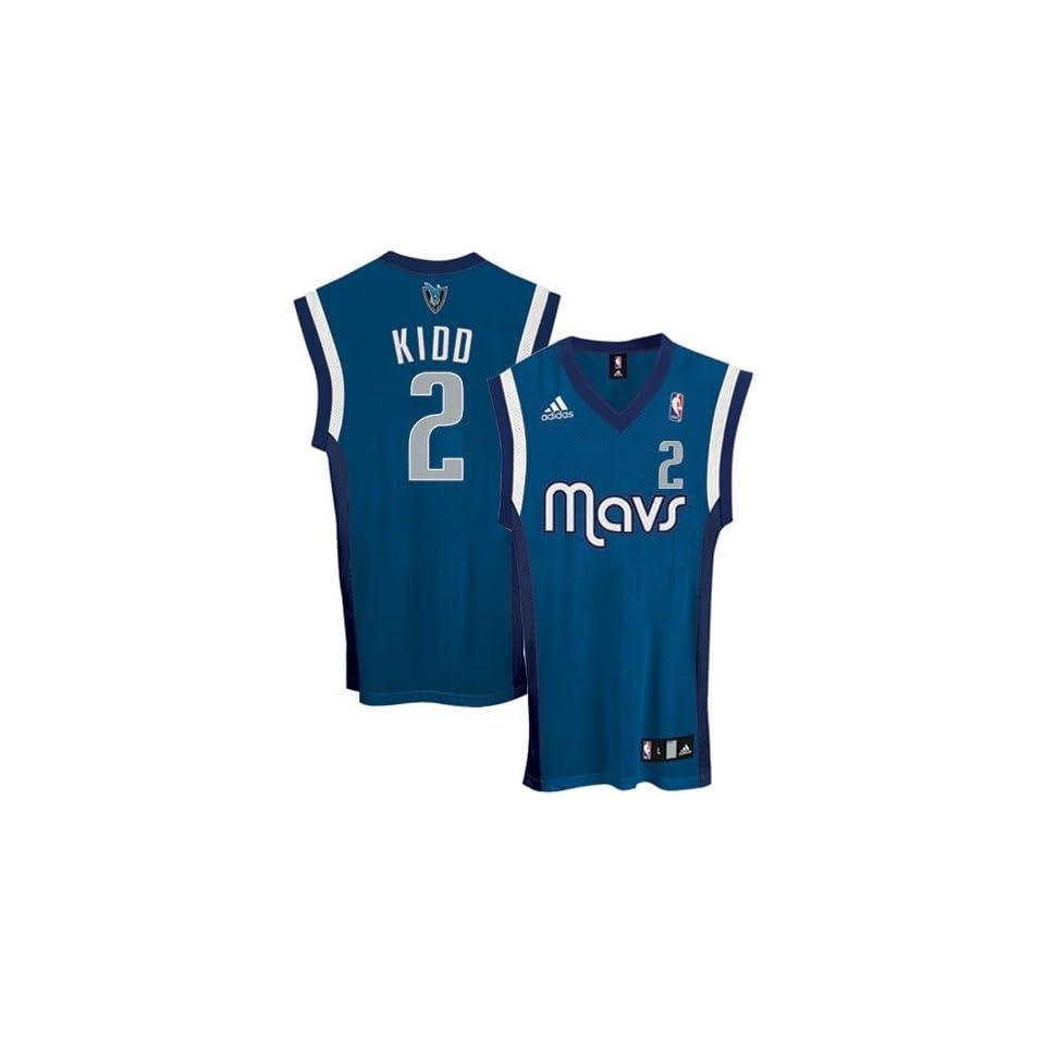 8987678f6 adidas Dallas Mavericks  2 Jason Kidd Royal Blue Replica Basketball Jersey